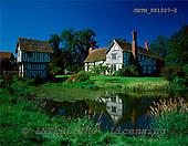 Tom Mackie, FLOWERS, photos, Timbered Manor House, Lower Brockhampton, Herefordshire, England, GBTM881507-2,#F# Garten, jardín