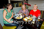 Enjoying the evening in the Brogue Inn on Saturday, l to r: Michelle Kelliher, Fionnuala English and Xavier Murray.