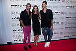 20.09.2012. Official presentation of the new Mercedes-Benz Car Class A in Moma Fifty Six at Madrid. In the image (L-R) Asdrubal, Nika and ?. (Alterphotos/Marta Gonzalez)