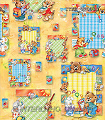 Isabella, GIFT WRAPS, paintings, animals, lines(ITKEGN0033,#GP#) everyday