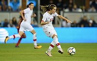San Jose, CA - Sunday November 12, 2017: Jessie Fleming during an International friendly match between the Women's National teams of the United States (USA) and Canada (CAN) at Avaya Stadium.