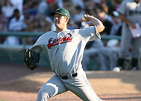 Clayton Kershaw of the Great Lakes Loons during the Midwest League All-Star game.  Photo by:  Mike Janes/Four Seam Images