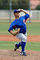 Ryan Sontag  - Chicago Cubs - 2009 extended spring training.Photo by:  Bill Mitchell/Four Seam Images