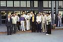 Iran 1980   .At the airport of Tehran, Dilshad, Helma,son of Ali Helma, Dr Mohammed Saleh Goma, Sihat going to Berlin;members of the Barzani family and relatives: Wajji, Sidad, Nechirvan, Saleh Ahmad  and others come to say goodbye.Iran 1980.A l'aeroport de Teheran , depart pour Berlin de Barzani et d'amis de la famille; des membres de la famille sont venus leur dire aurevoir