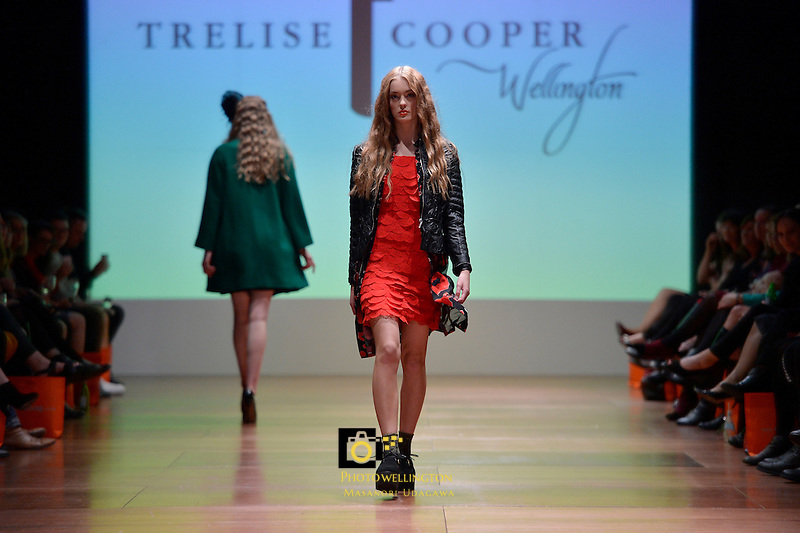 Wellington Fashion Week - Group Collections Showcase #1 Featuring:  Annah Stretton, Kilt,  deNada, Falvé, For Every Minute, Trelise Cooper at Shed 6, Queens Wharf, Wellington, New Zealand on Thursday 10 April 2014. <br /> Photo by Masanori Udagawa. <br /> www.photowellington.photoshelter.com.