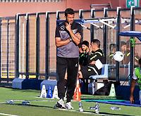 Como 17-09-2021<br /> Stadio Giuseppe Sinigaglia <br /> Campionato Serie BKT 2021/22<br /> Como - Frosinone<br /> nella foto:  Fabio Grosso  allenatore Trainer Frosinone Calcio                       <br /> foto Antonio Saia -Kines Milano
