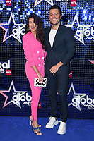 Michelle Keegan and Mark Wright<br /> arriving for the Global Awards 2019 at the Hammersmith Apollo, London<br /> <br /> ©Ash Knotek  D3486  07/03/2019
