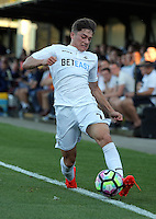 Pictured: Daniel James of Swansea Monday 15 August 2016<br /> Re: Swansea City FC U23 v West Bromwich Albion at Landore training ground, Swansea, Wales, UK