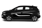 Car Driver side profile view of a 2021 Opel Crossland Edition 5 Door SUV Side View