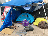 State agencies are moving in to clean up Austin, Texas after the capital city became a magnet for homeless vagrants, due to laws allowing people to camp out on the streets.