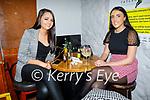 Enjoying the evening in Tatler Jacks in Killarney on Saturday, l to r: Christina O'Riordan and Shauna Brosnan from Gneeveguilla.