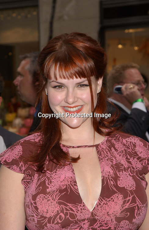 Sara Rue                                ..at the ABC Upfront announcement of the Fall Shows ..on May 13,2003 at Radio City Music Hall...Photo By Robin Platzer, Twin Images