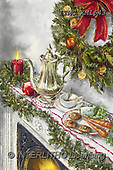 Marcello, CHRISTMAS SYMBOLS, WEIHNACHTEN SYMBOLE, NAVIDAD SÍMBOLOS, paintings+++++,ITMCXM1643,#XX# ,Christmas wreath