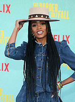 LOS ANGELES, CA - OCTOBER 13: Rachel Lynn Lindsay Abasolo, at the Special Screening Of The Harder They Fall at The Shrine in Los Angeles, California on October 13, 2021. Credit: Faye Sadou/MediaPunch