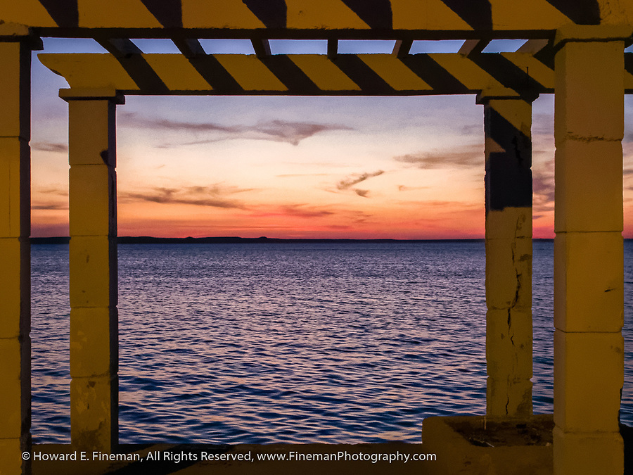 Sunset on the bay, Cienfuegos