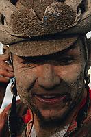 3rd October 2021, Paris–Roubaix Mens Cycling tour;  Tosh Van Der Sande during the Paris–Roubaix which is famous for its uneven cobblestone course.
