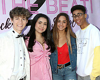 """LOS ANGELES - MAR 8:  Hayden Summerall, Laura Krystine, Brisa Lalich, and Bryce Xavier at the """"To the Beat! Back 2 School"""" World Premiere Arrivals at the Laemmle NoHo 7 on March 8, 2020 in North Hollywood, CA"""