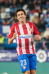 Nicolas Gaitan of Atletico de Madrid reacts during their Copa del Rey 2016-17 Quarter-final match between Atletico de Madrid and SD Eibar at the Vicente Calderón Stadium on 19 January 2017 in Madrid, Spain. Photo by Diego Gonzalez Souto / Power Sport Images