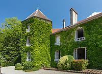 France, Haute-Marne (52), Colombey-les-Deux-Églises, la Boisserie, maison de Charles de Gaulle