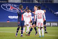 9th January 2021, Paris, France; French League 1 football, St. Germain versus Stade Brest;  BIOTY MOISE KEAN PSG