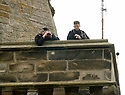 23/06/2005         Copyright Pic : James Stewart.File Name : sct_jspa17 wills graduation.SECURITY IS TIGHT AROUND ST ANDREW'S UNIVERSITY AS  ARMED POLICE KEEP WATCH FROM A CLOCK TOWER....Payments to :.James Stewart Photo Agency 19 Carronlea Drive, Falkirk. FK2 8DN      Vat Reg No. 607 6932 25.Office     : +44 (0)1324 570906     .Mobile   : +44 (0)7721 416997.Fax         : +44 (0)1324 570906.E-mail  :  jim@jspa.co.uk.If you require further information then contact Jim Stewart on any of the numbers above.........