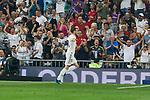 Real Madrid's Gareth Bale celebrate goal during La Liga match. September 01, 2018. (ALTERPHOTOS/A. Perez Meca)