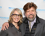 Laura Penn and Oskar Eustis attends the Second Annual SDCF Awards, A celebration of Excellence in Directing and Choreography, at the Green Room 42 on November 11, 2018 in New York City.
