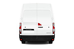 Straight rear view of a 2019 Renault Master L3h2 4 Door Cargo Van stock images