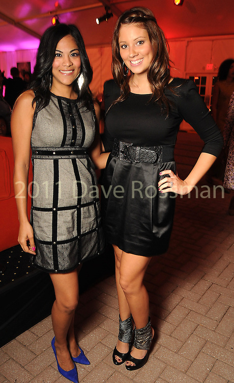 Sophia Malik and Kristin Miller at the third night of Fashion Houston at the Wortham Theater Wednesday Oct. 12,2011.(Dave Rossman/For the Chronicle)