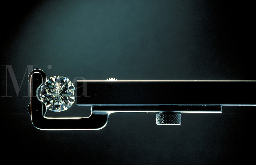 Diamond inspection.