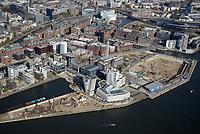 Hafencity Baustelle Strandkai Überseequartier: EUROPA, DEUTSCHLAND, HAMBURG, (EUROPE, GERMANY), 19.10.2018 Hafencity Baustelle Strandkai Überseequartier