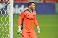 WASHINGTON, DC - SEPTEMBER 12: Chris Seitz #1 of D.C. United during a game between New York Red Bulls and D.C. United at Audi Field on September 12, 2020 in Washington, DC.