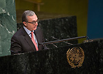 General Assembly Seventy-second session, 28th plenary meeting<br /> Report of the Secretary-General on the work of the Organization (A/72/1)<br /> <br /> Armenia