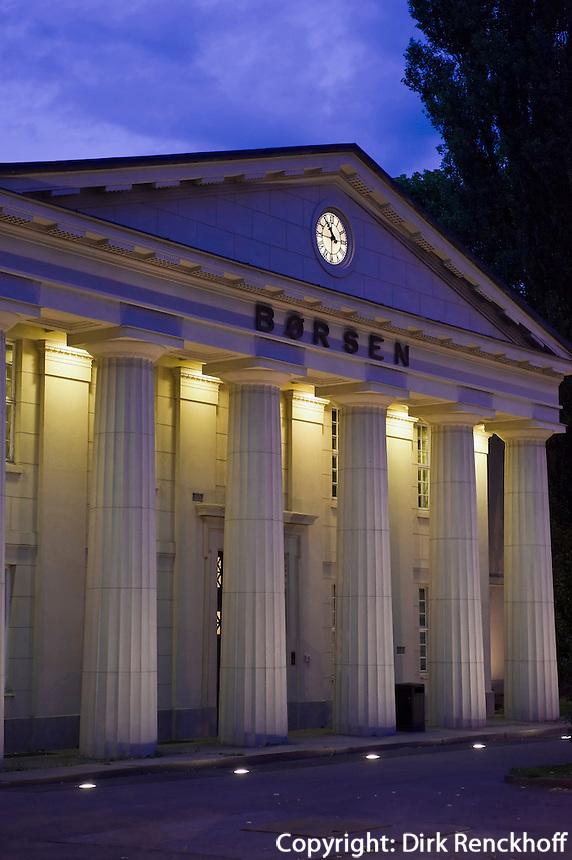 Norwegen, Oslo, alte Börse