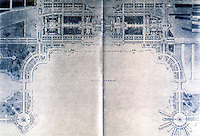 Burnham Plan:  Chicago--Plan of Grant Park & Harbor. P. 110. Drawing by F. Janin.