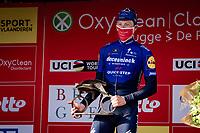 Sam Bennett (IRA/Deceuninck - Quick Step) wins the 45th Oxyclean Classic Brugge-De Panne 2021 (ME/1.UWT)<br /> <br /> 1 day race from Bruges to De Panne (204km)<br /> <br /> ©kramon