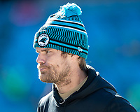 CHARLOTTE, NC - DECEMBER 15: Greg Olsen #88 of the Carolina Panthers during a game between Seattle Seahawks and Carolina Panthers at Bank of America Stadium on December 15, 2019 in Charlotte, North Carolina.