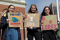 Students in over 100 countries worldwide walk out of class in massive youth strike climate activism protest 3.15.19