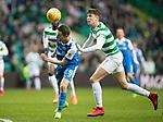Celtic v St Johnstone…18.02.18…   Celtic Park    SPFL<br />Steven MacLean and Jack Hendry<br />Picture by Graeme Hart. <br />Copyright Perthshire Picture Agency<br />Tel: 01738 623350  Mobile: 07990 594431