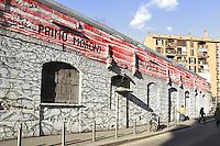 - Milan, the front of Cox 18 Social Center in Conchetta street<br /> <br /> - Milano, facciata del centro sociale Cox 18 in via Conchett