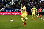 Leganes vs Villarreal Carlos Bacca running during Copa del Rey match. 20180104.