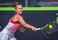 Rotterdam, Netherlands, August21, 2017, Rotterdam Open, Karolina Novotna (CZE)<br /> Photo: Tennisimages/Henk Koster