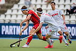 Mannheim, Germany, May 08: During the 1. Bundesliga men fieldhockey semi-final match between Rot-Weiss Koeln and Berliner HC on May 8, 2021 at Am Neckarkanal in Mannheim, Germany. (Copyright Dirk Markgraf / www.265-images.com) ***