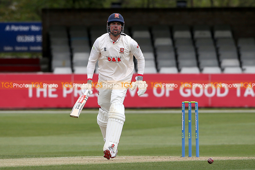 Sir Alastair Cook of Essex in batting action during Essex CCC vs Worcestershire CCC, LV Insurance County Championship Group 1 Cricket at The Cloudfm County Ground on 8th April 2021