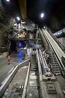 alptransit, Svizzera, Canton Ticino galleria ferroviaria, alta velocità, treni merci, cantiere Sigirino, galleria del Gottardo, treni,