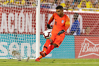 Tampa, FL - Thursday, October 11, 2018: Zack Steffen during a USMNT match against Colombia.  Colombia defeated the USMNT 4-2.