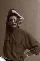 Sergio Castellitto, attore, regista, sceneggiatore, produttore  italiano. Lido, 12  settembre 1991. Festival Internazionale del Cinema di Venezia. Photo by Leonardo Cendamo/Gettyimages