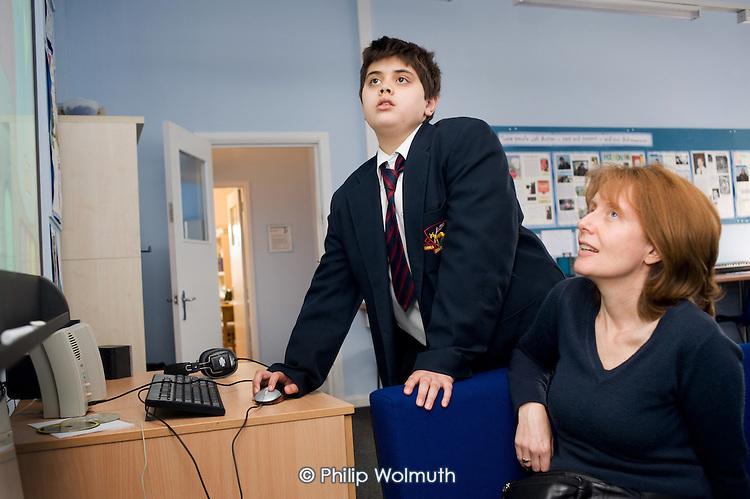 Hendon Autism Resource Provision (HARP) at Hendon School, Barnet, London.