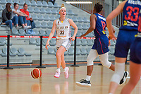 Julie Vanloo (35) of Belgium pictured during a basketball game between the national teams of Belgium , called the Belgian Cats , and Serbia on Friday 28 th of May 2021 in Kortrijk , Belgium . PHOTO SPORTPIX.BE   SPP   STIJN AUDOOREN