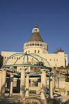 Israel, Lower Galilee, the Church of the Annunciation in Nazareth